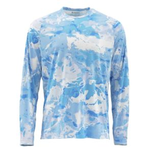 Thousand Lakes Sporting Goods Simms Solarflex LS Crewneck - Print August 2, 2019