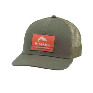 Thousand Lakes Sporting Goods SIMMS ORIGINAL PATCH TRUCKER HAT September 20, 2019