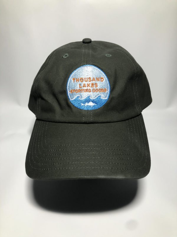 Thousand Lakes Sporting Goods Thousand Lakes Sports Oil Cloth Cap November 13, 2019