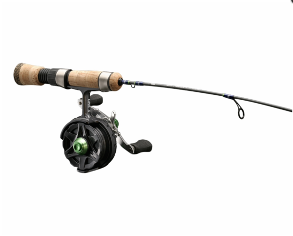 "Thousand Lakes Sporting Goods 13 Fishing Snitch Descent Inline 25"" Ice Combo Left Handed December 5, 2019"